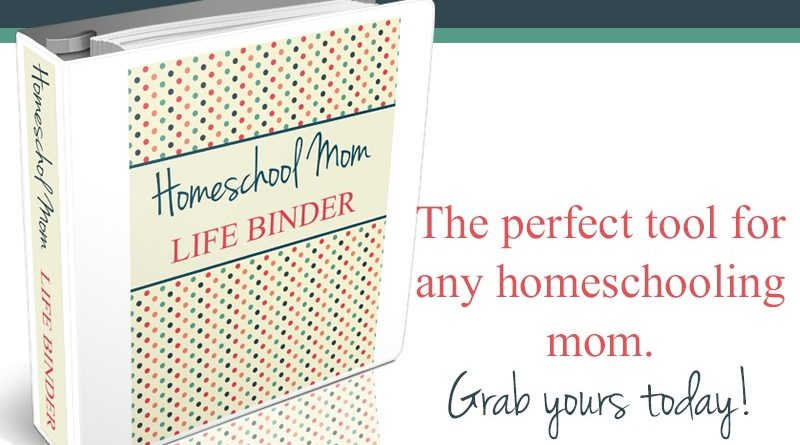 Homeschool-mom-life-binder