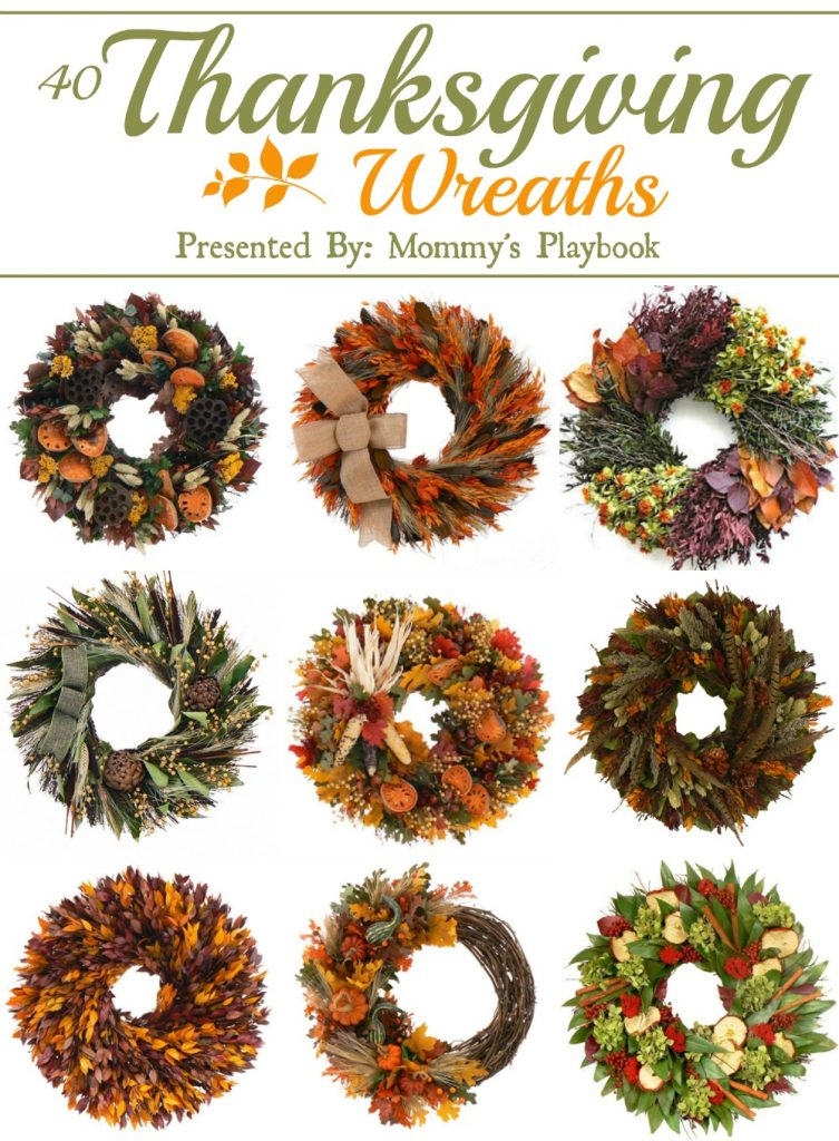 40 Thanksgiving Wreaths to Inspire Your Autumn Home