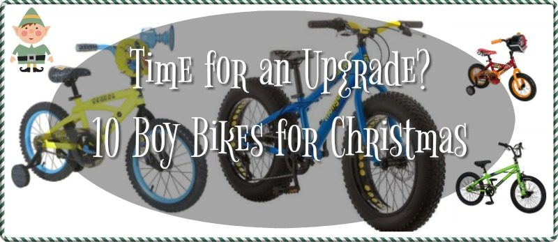 10 Boys Bikes for Christmas