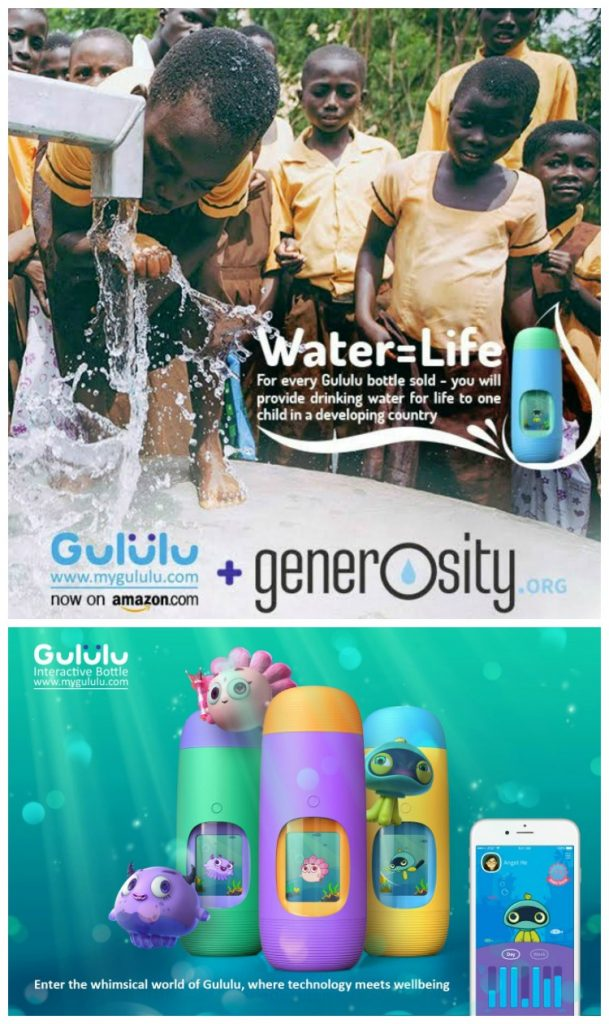 Gululu Interactive Water Bottle An Amazon Exclusive