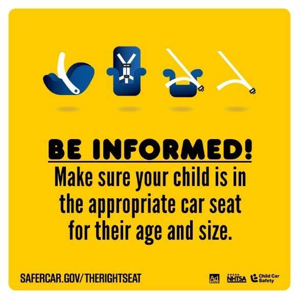 #KidsBuckleUp from the Ad Council