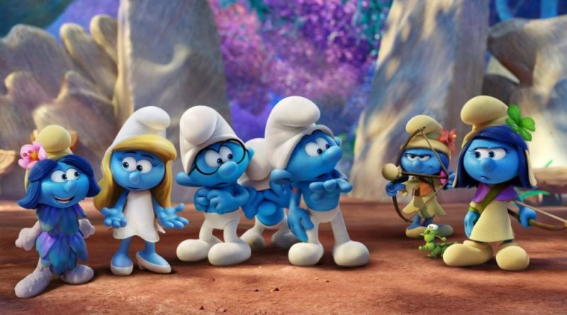 Smurfs: The Lost Village in Theaters