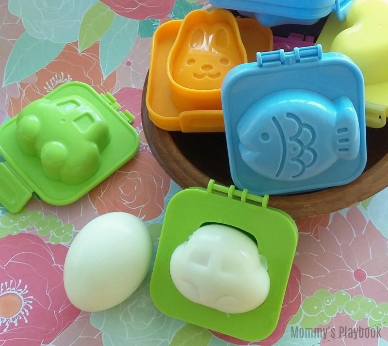 Fun Hard Boiled Egg Molds for Kids!  #PickyEaters #KidsFood #EasterEggs