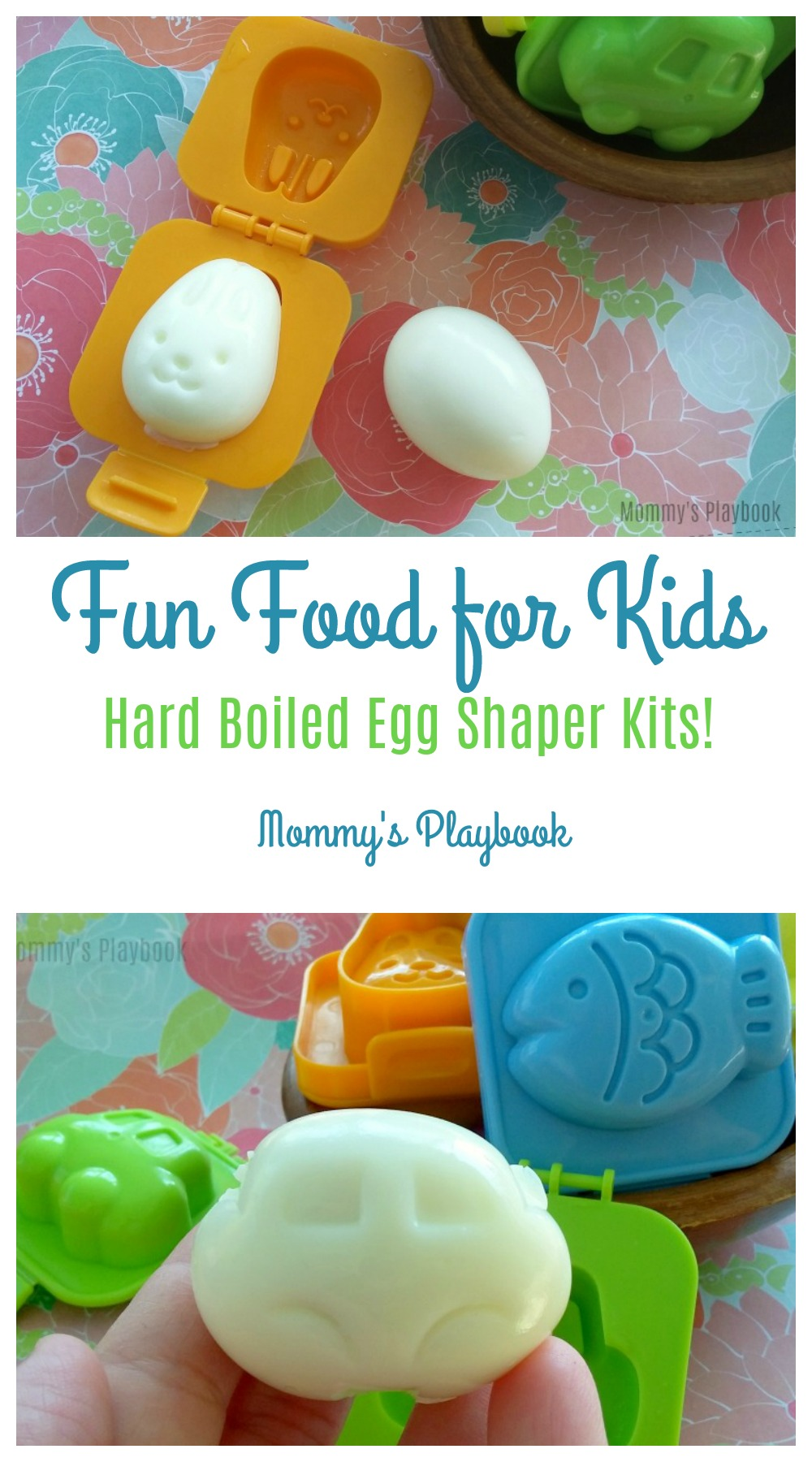Hard Boiled Egg Shapers #KidsFood #PickyEaters