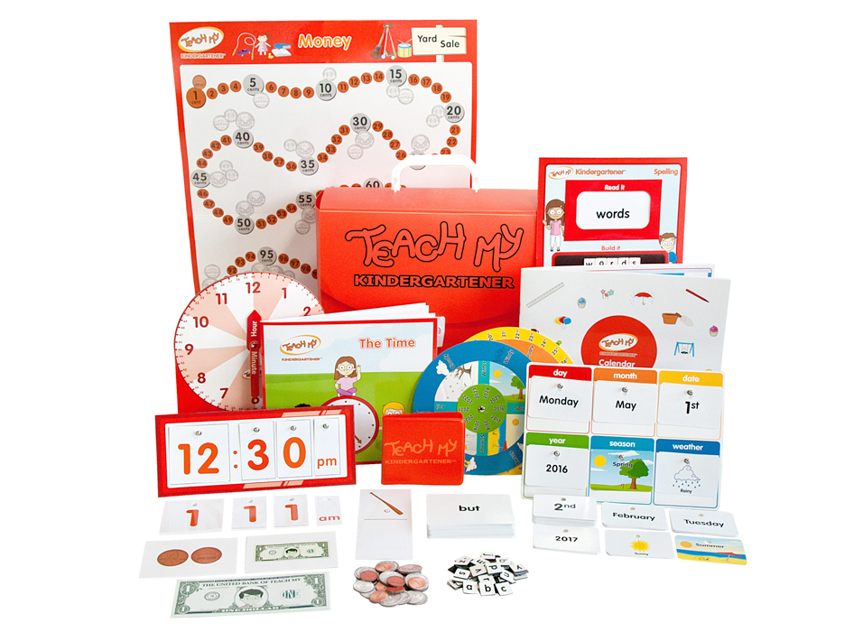 Teach My Kindergartener Learning Kit - Deluxe Version from #TeachMy #Curriculum #BTS2018