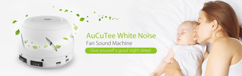 AuCuTee Fan White Noise Machine