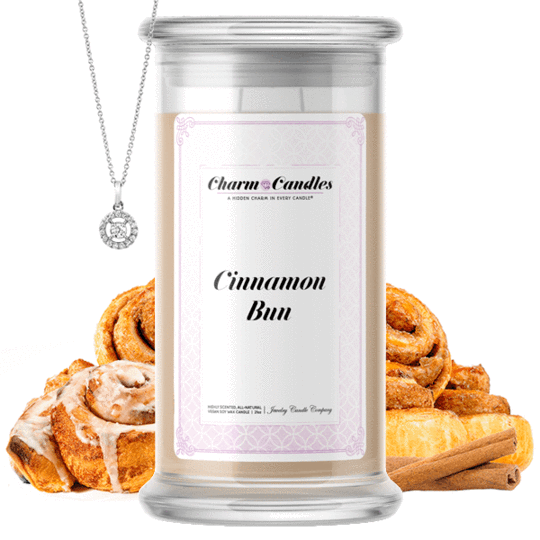 Cinnamon Bun Charm Candle #AutumnScents #FallFavorites #JewelryCandles