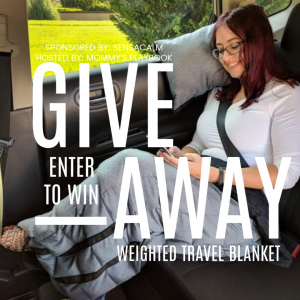 Enter to Win SensaCalm Travel Weighted Blanket, Calm-to-Go #SensaCalm #WeightedBlankets #SPD #ASD