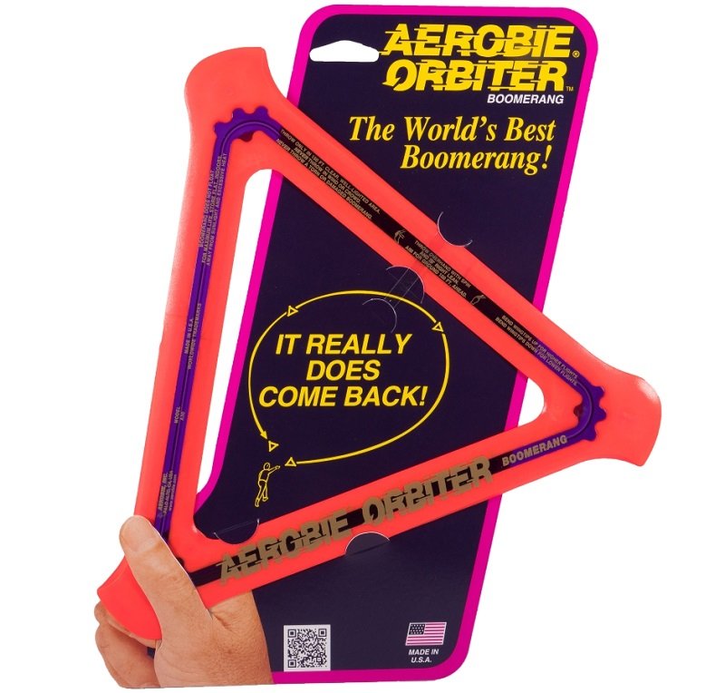 Aerobie Orbiter Boomerang Really Comes Back! #Aerobie #Swimways