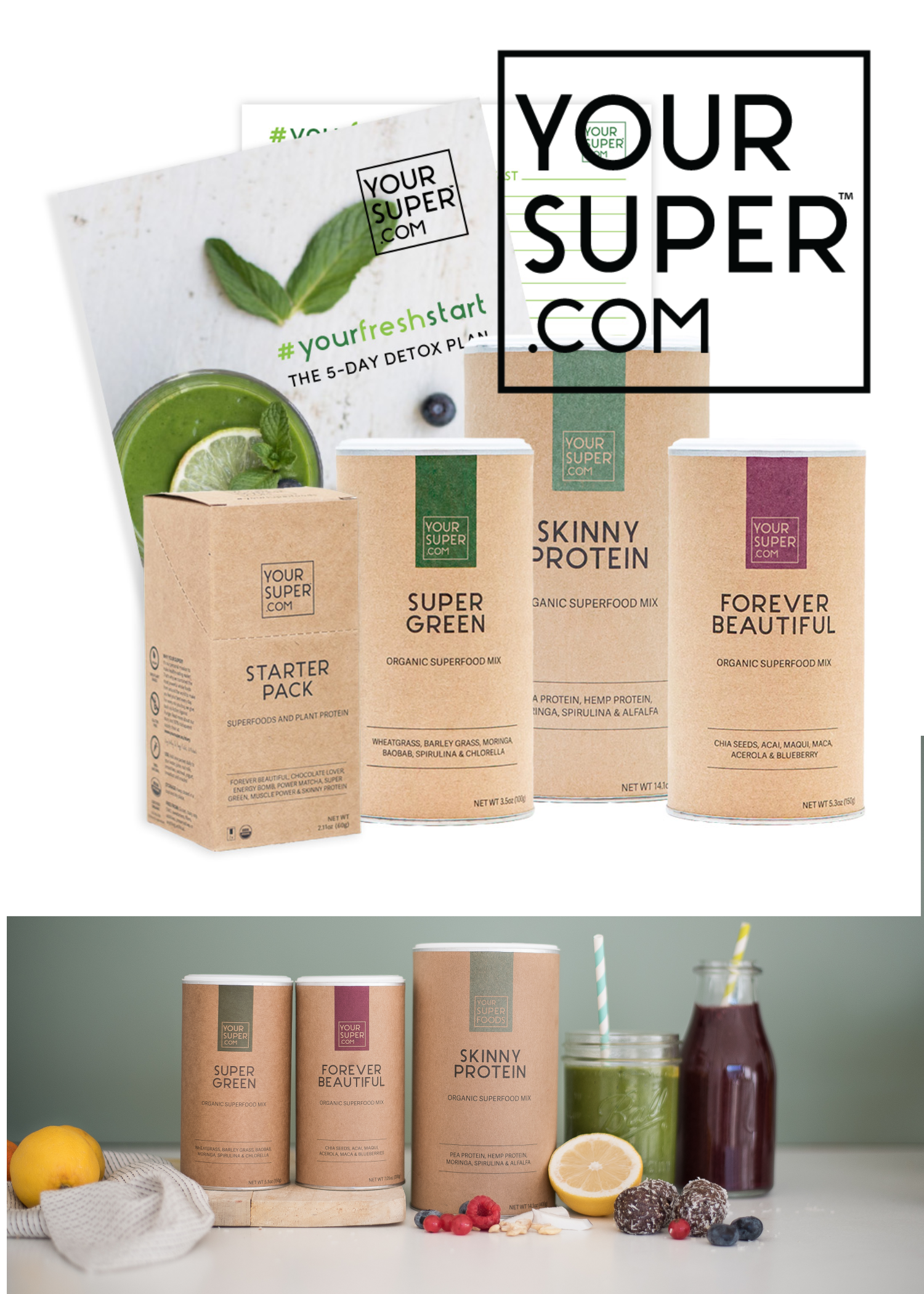 Your Super Detox Bundle #Superfoods #YourSuper #SuperMom