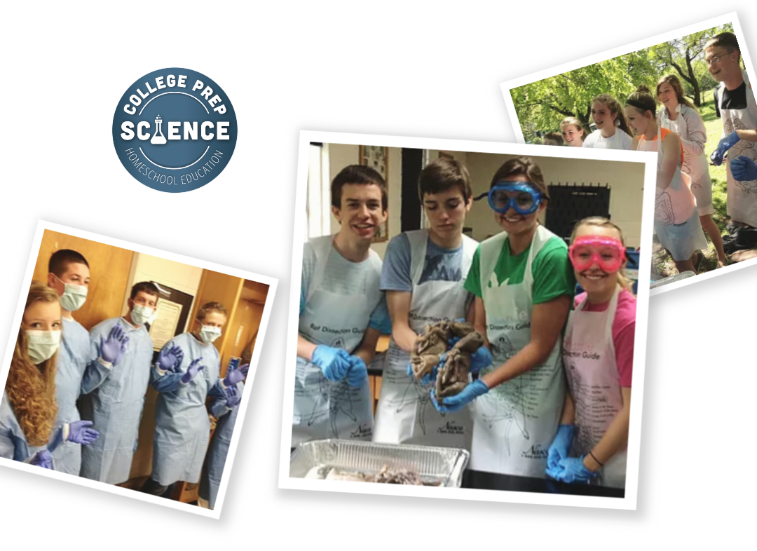 College Prep Science Online Classes for Homeschool Families
