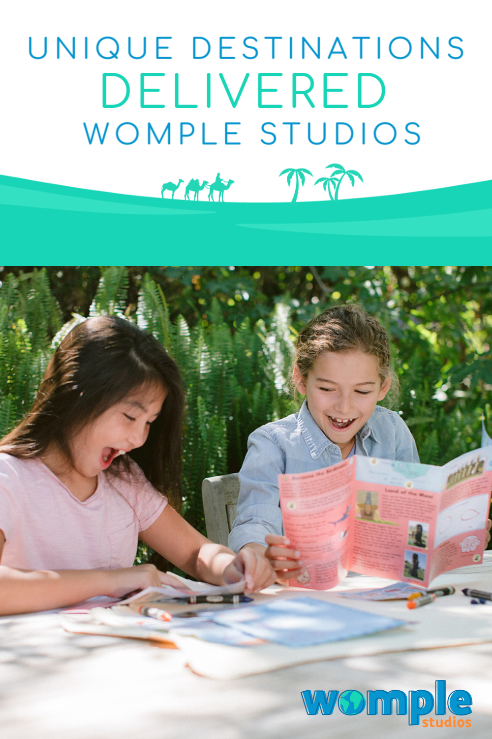 WompleMail by Womple Studios. Learn about Unique Destinations 2x a Month!!! TWO DELIVERIES EACH MONTH!! #WompleMail #WompleStudios