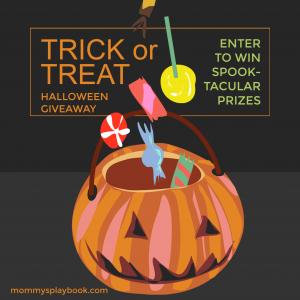 Trick or Treat Halloween Giveaway at Mommy's Playbook