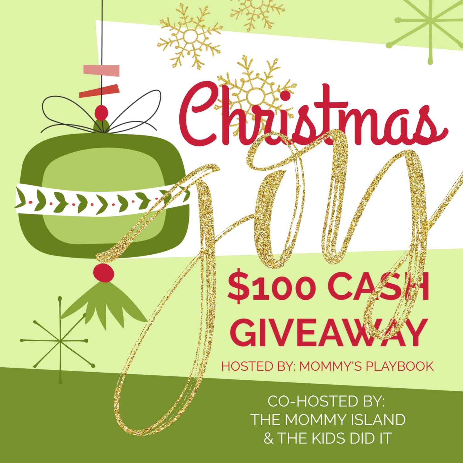 Christmas Joy Cash Giveaway