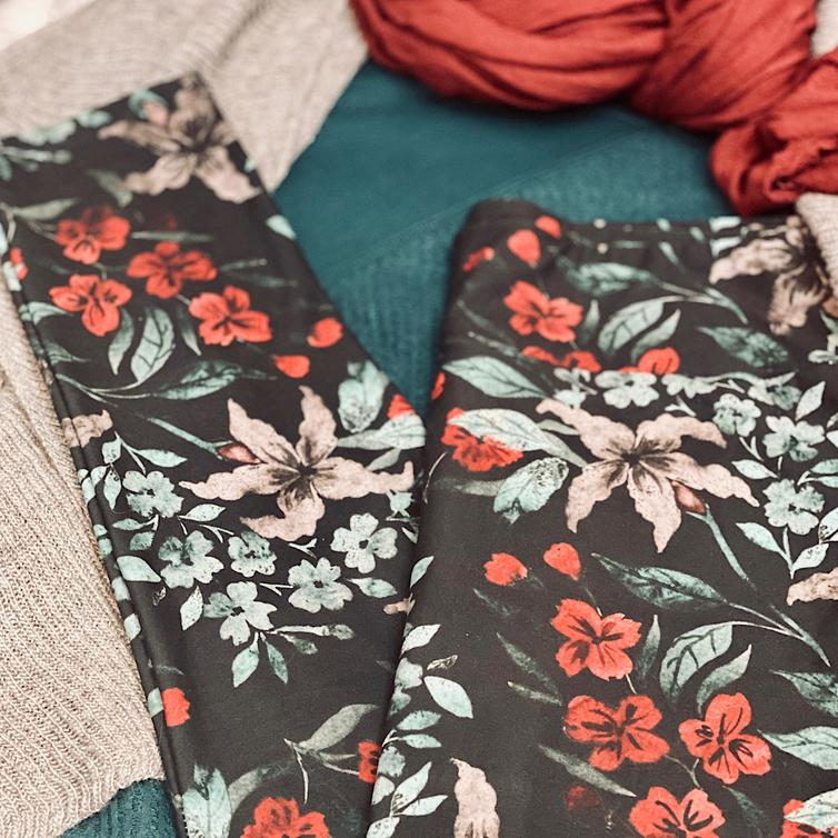 Dream Leggings Exclusive Prints! #DreamLeggings #BuyalltheLeggings #WinterFloral