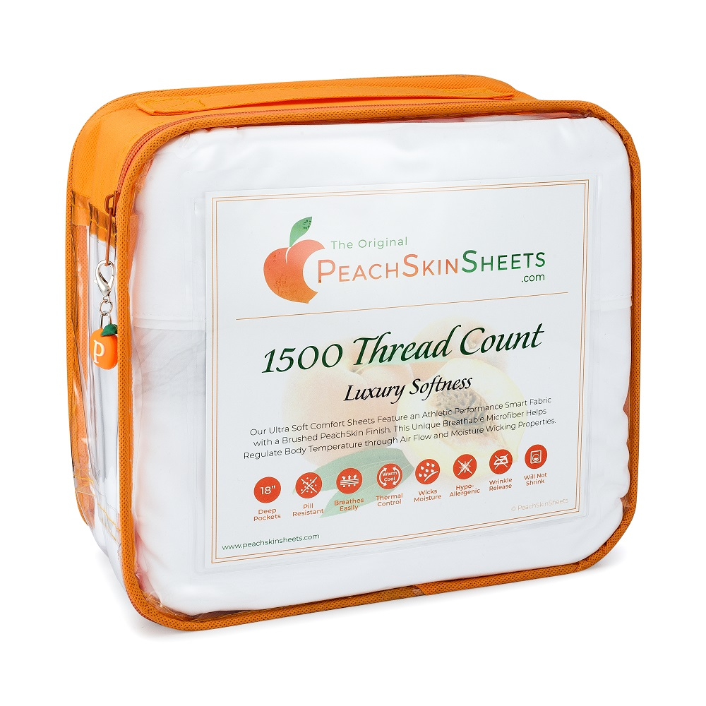 PeachSkinSheets Packaging
