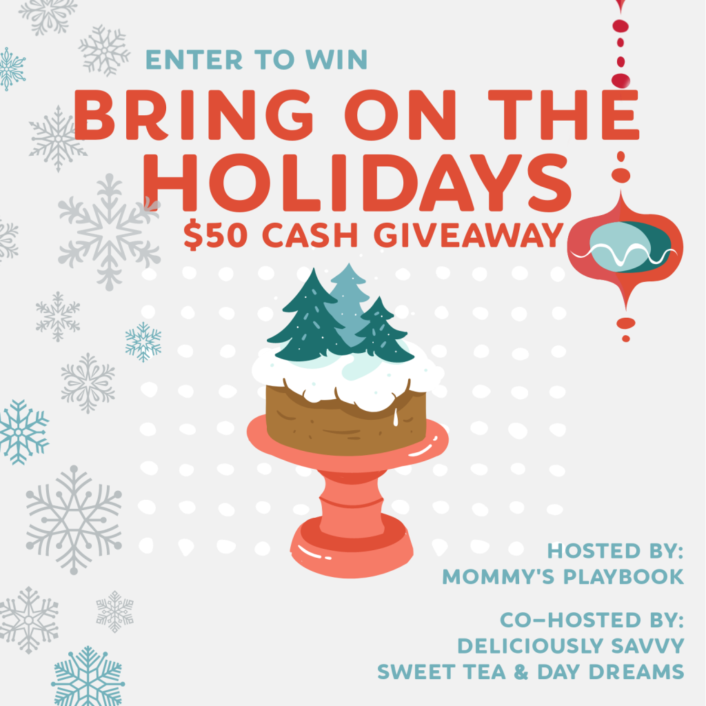 Bring on the Holidays Cash Giveaway Button