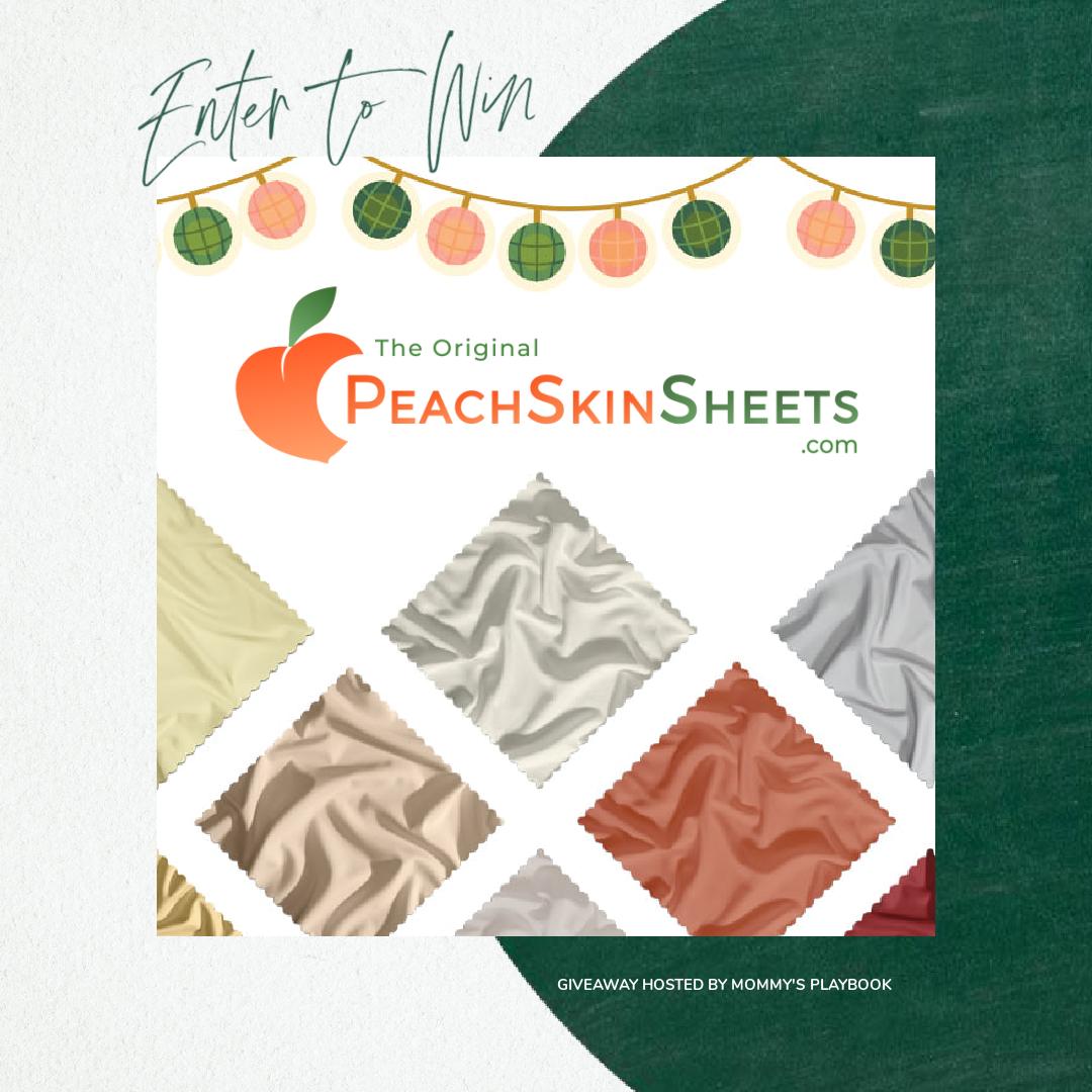 PeachSkinSheets Giveaway Button