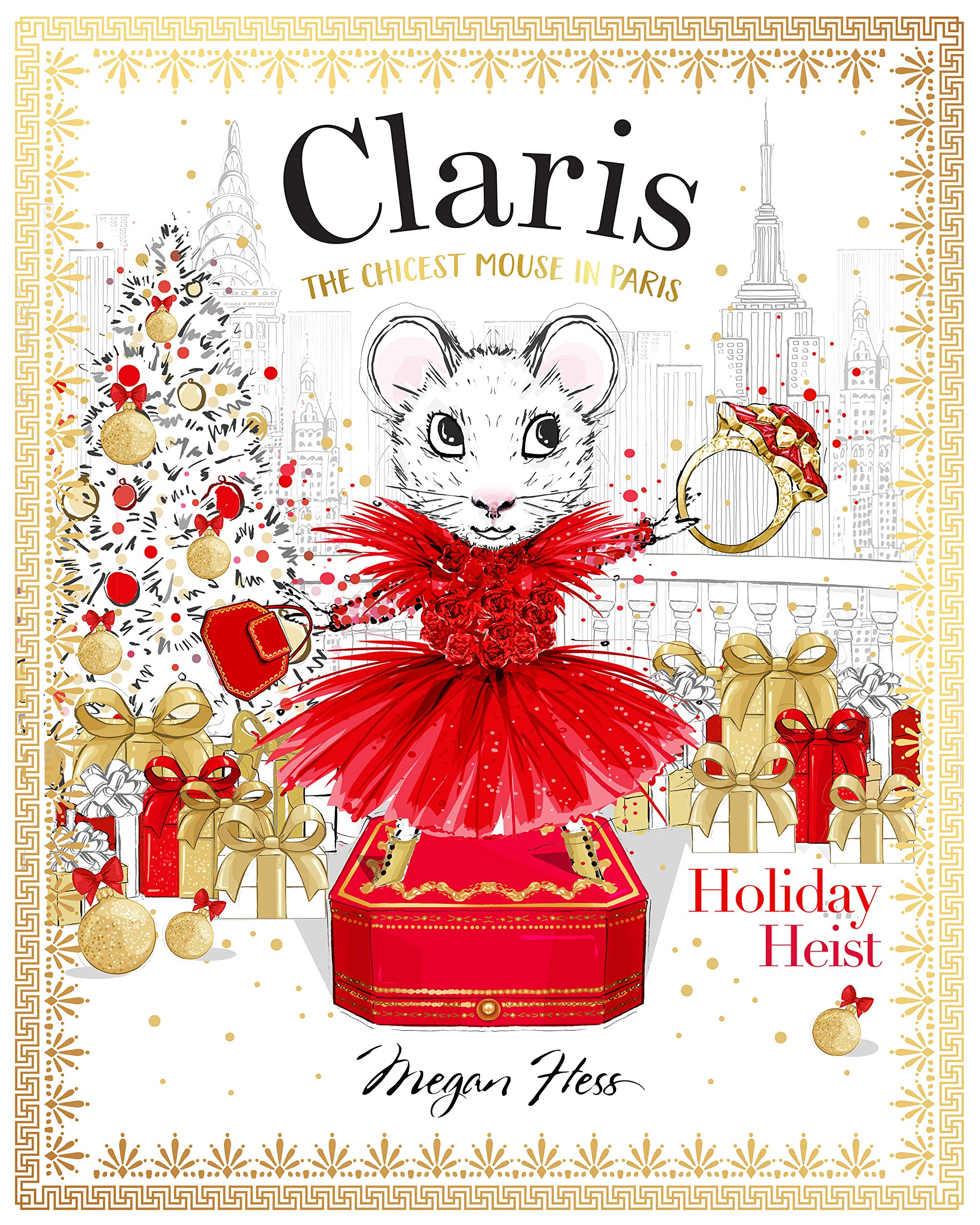 Claris: Holiday Heist: The Chicest Mouse in Paris Book Cover