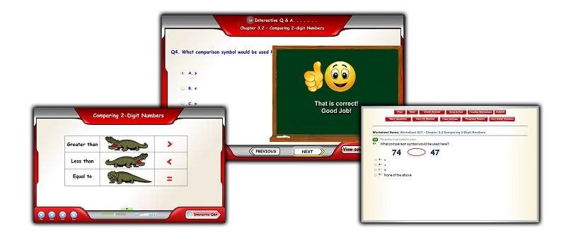 The goal of the A+ TutorSoft is to help students of all ability and grade levels reach their educational potential by offering expert instruction that is engaging, easy to follow and easily accessible. Using a proprietary learning platform that combines voice, visual and text-based instructions, we make learning Math easy. Centered on the proven methodology of a test-grade-review cycle, A+ TutorSoft's instructional platform delivers personal, highly-effective, and expert instructions.