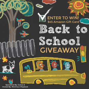 Back to School Giveaway at Mommy's Playbook! #GululuBTS2018