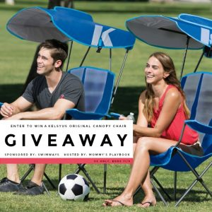 The Kelsyus Original Canopy Chair is the perfect companion for your family camping trips, tailgating, and watching the kids from the sidelines! Sold individually. Colors and styles may vary. #EntertoWin #Giveaway #BlogEvent