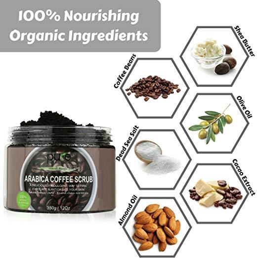 Arabica Coffee Scrub by Pure Parker #PureParker #Organic
