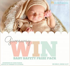 Enter to Win the #BabySafety Prize Package from #SureBasics