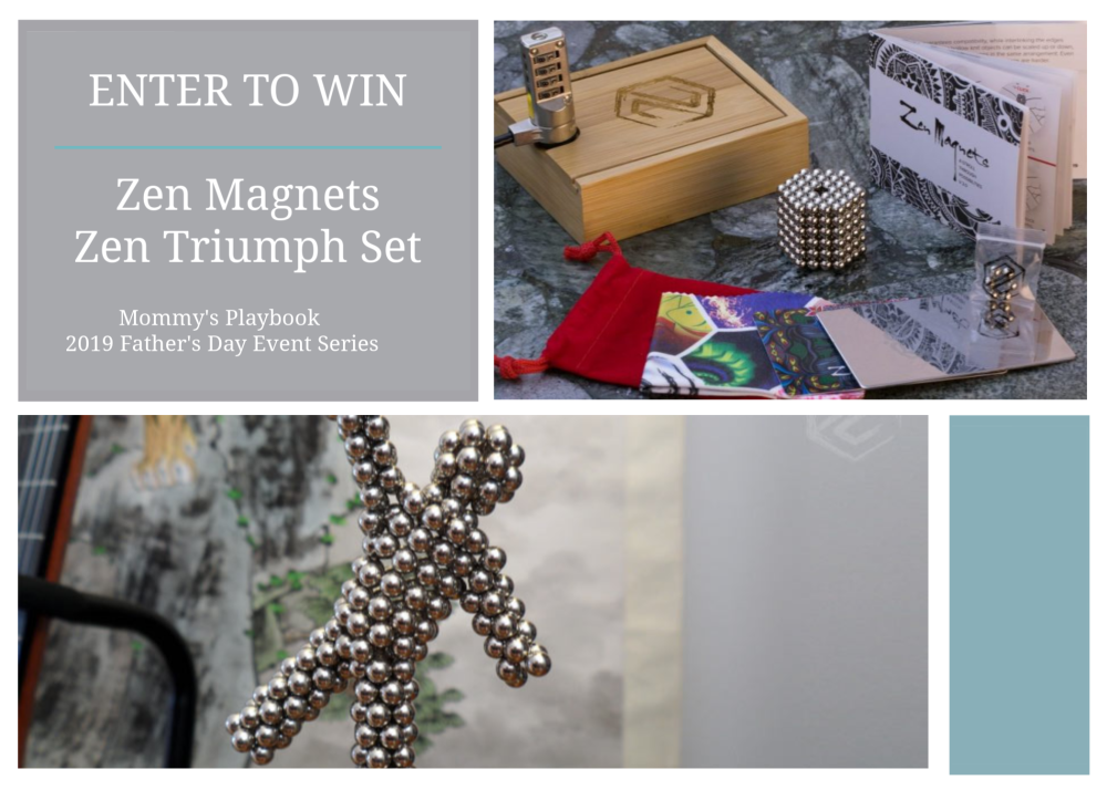 Father's Day Giveaway Event Series Special: Zen Magnets #FathersDay Gift