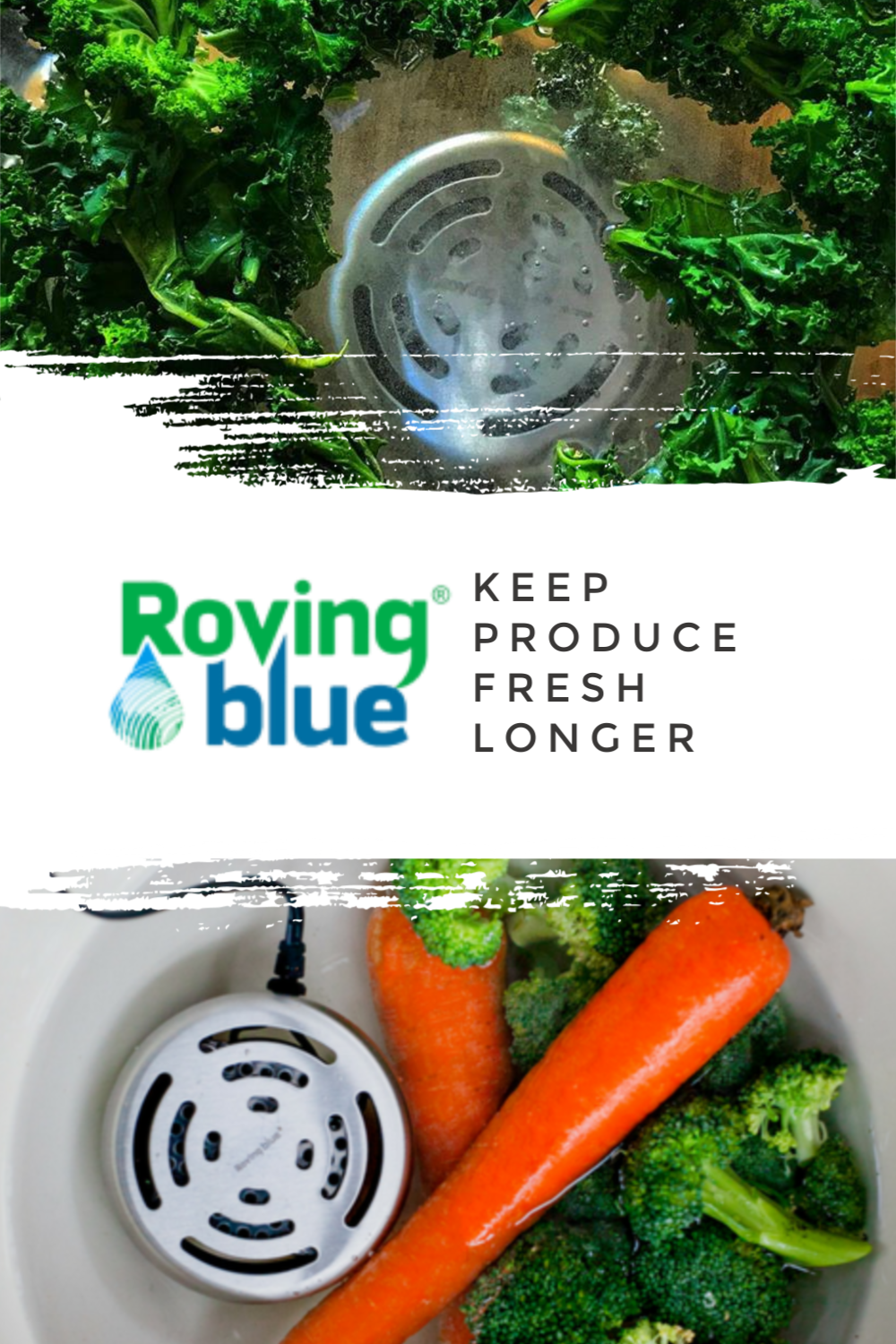 Roving Blue Keep Produce Fresh Longer #Ozone #RovingBlue
