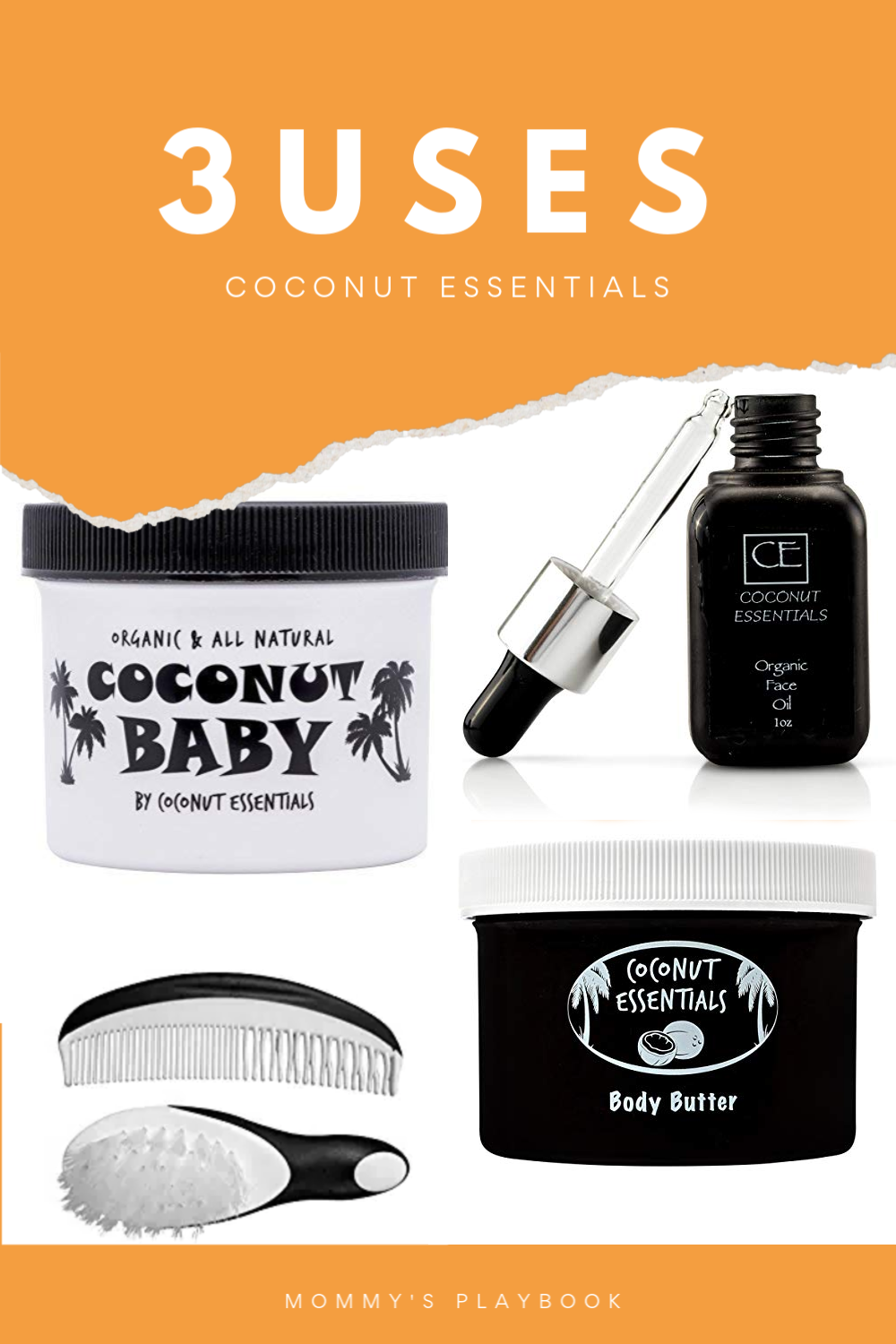 3 Uses for Coconut Essentials #CoconutEssentials