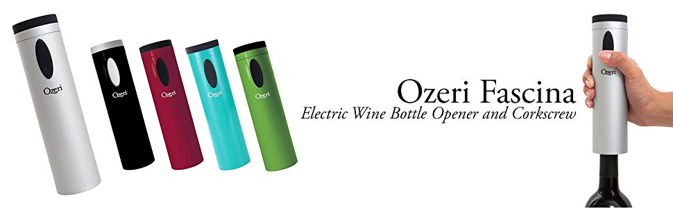 Ozeri OW08A Fascina Electric Wine Bottle Opener