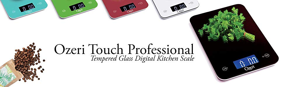 Ozeri Touch Pro Digital Kitchen Scale