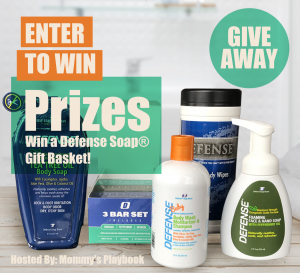 Enter to Win a Defense Soap Gift Basket at Mommy's Playbook