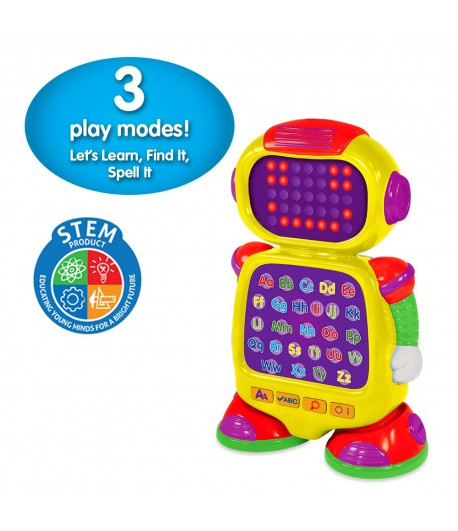 The Touch & Learn Alphabet. The AlphaBot is on a quest to help your child discover the magic of phonics, the alphabet, spelling and more.