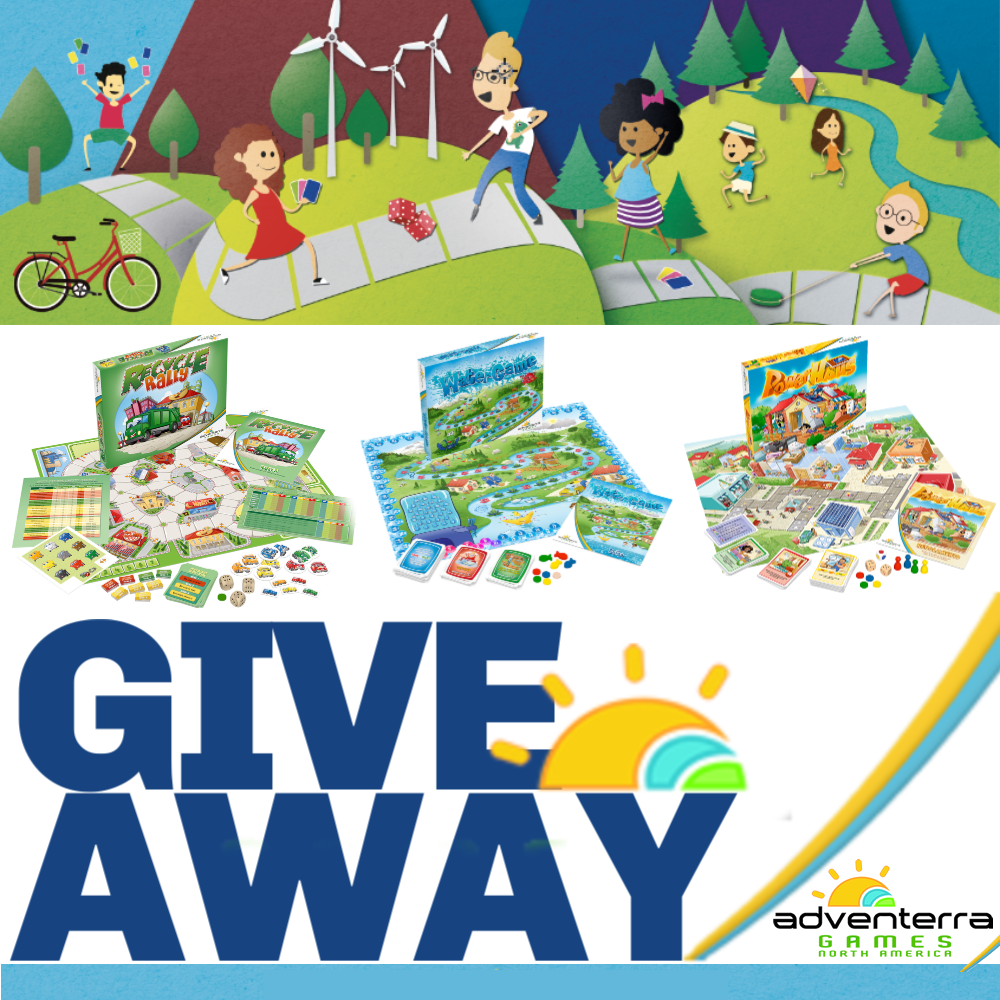 Enter to Win 3 Adventerra Games at Mommy's Playbook