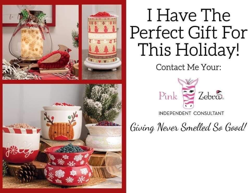 Pink Zebra Holiday Collection
