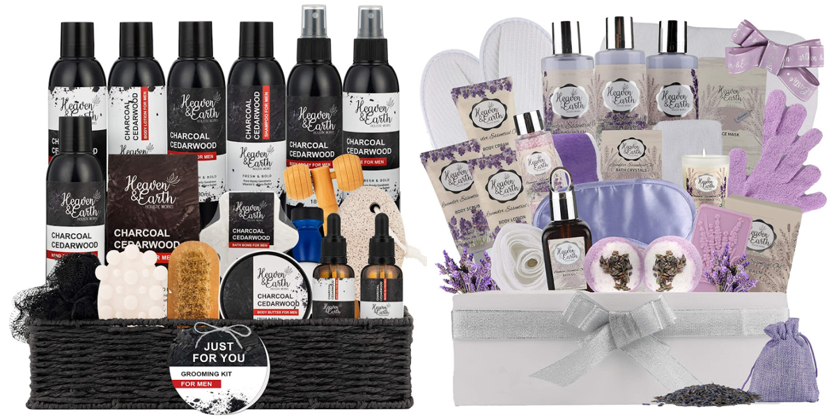 Pure Parker His Hers Gift Baskets